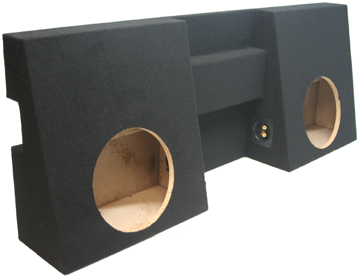 tacoma box toyota sub truck cab double subwoofer speaker custom enclosure dual 2005 kicker c10 speakers boxes ohm sealed comp