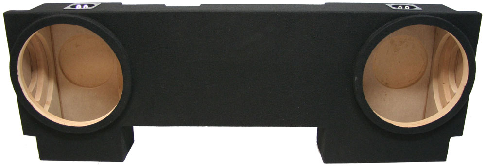 Chevy Avalanche Or Cadillac Escalade Ext Dual Sealed Sub Box Detailed Image on Cadillac Escalade Subwoofer Box