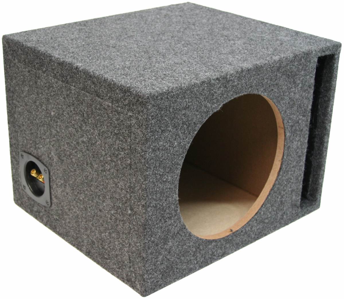 Single 12 ported 1 mdf universal fit sub box enclosure pv112 single 12 ported 1 mdf universal fit sub box enclosure sciox Images