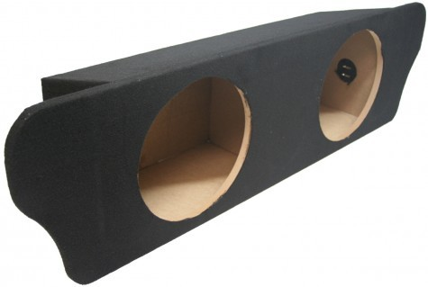 """1994-2004 Ford Mustang Coupe Dual 10"""" Sealed Sub Box"""