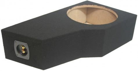 "2002-2009 Chevy Trailblazer or GMC Envoy Single 12"" Sealed Sub Box"