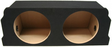 "2003-2012 Mazda RX-8 Coupe Dual 10"" Sealed Sub Box"