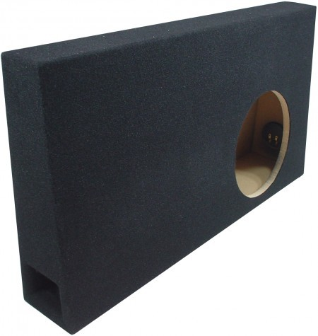 """2004-2008 Ford F150 Super (Extended) Cab Truck Single 10"""" Ported Sub Box"""
