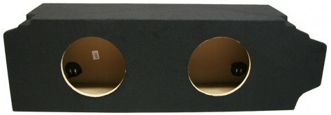 """2005-2010 Scion TC Coupe Dual 10"""" Sealed Custom Sub Box Enclosure"""