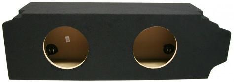"""2005-2010 Scion TC Coupe Dual 12"""" Sealed Custom Sub Box Enclosure"""