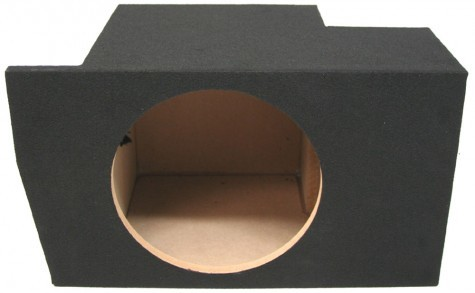 "2005-2014 Ford Mustang Coupe Single 10"" Sealed Sub Box"