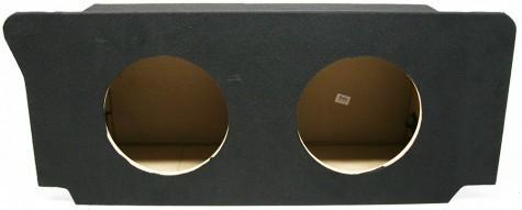 "2006-2010 Dodge Charger Dual 12"" Sealed Custom Sub Box Enclosure"