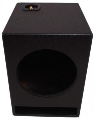 "Single 10"" Ported Universal Fit Sub Box Enclosure (Armor Coated)"