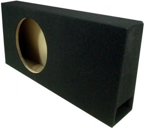 "Single 12"" Ported Regular Cab Truck Sub Box Enclosure"