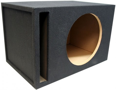 "Single 18"" Ported 1"" MDF Universal Fit Sub Box Enclosure"